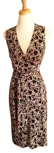 Diane von Furstenberg short dress Bunny Head Print Wrap Silk Playboy on Tradesy