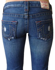 True Religion Bobby Jeans Boot Cut Jeans-Distressed
