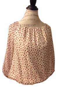 Alice + Olivia Top Light with small roses