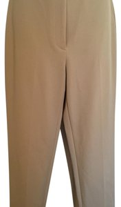 Straight Pants Tan/Khaki