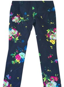 ERDEM England Designer Runway Straight Pants Multi-color