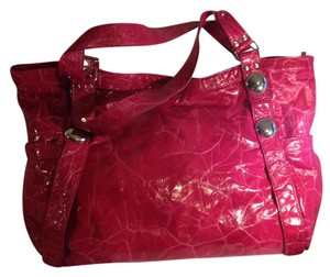 Sondra Roberts Handbag Animal Satchel in Pink