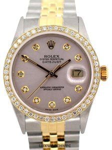 Rolex MEN'S ROLEX DATEJUST DIAMOND 2-TONE WATCH