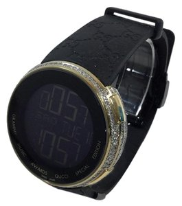 Gucci Custom,Mens,I,Gucci,Digital,Gold,Case,Full,Diamond,Watch,Ct,,