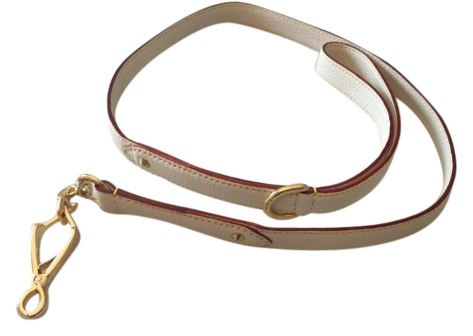 a0963586c2c5 Louis Vuitton Louis Vuitton Suhali Goat Leather Dog Leash in White Image 0  ...