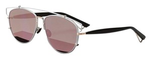 Dior -NEW- Dior Dior Technologic XG9AP (color) WHITE and GOLD TRIM with PINK MIRRORED LENSES