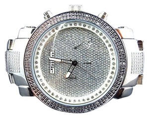 Other Mens Jojinojoe Rodeojojo Stainless Steel 50mm Real 25 Diamond Watch Mj-1193