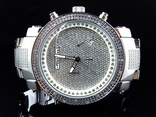 Other Mens Jojinojoe Rodeojojo Stainless Steel 50mm Real 25 Diamond Watch Mj-1193 Image 3