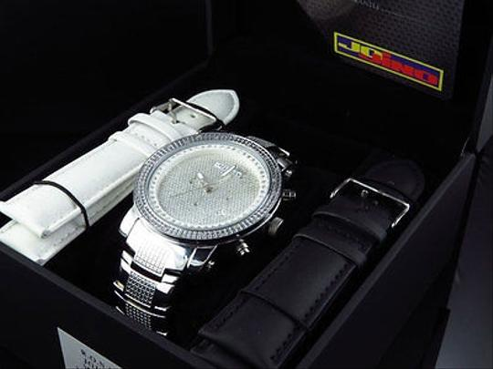 Other Mens Jojinojoe Rodeojojo Stainless Steel 50mm Real 25 Diamond Watch Mj-1193 Image 4