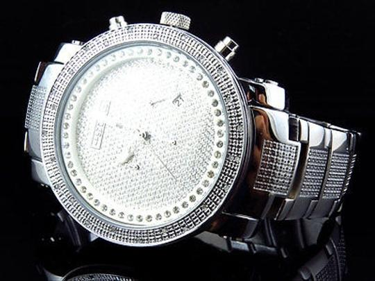 Other Mens Jojinojoe Rodeojojo Stainless Steel 50mm Real 25 Diamond Watch Mj-1193 Image 5