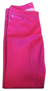 Celebrity Pink Skinny Pants Bright Pink