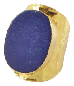 Other Blue Lapis Natural Stone Statement Ring