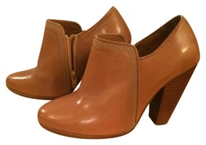 Christophe Lemaire Ankle Boot Bootie Heeled Boot Tan Boots