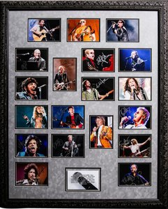 Photo Montage The Voices of Rock