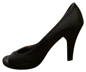 Marc Jacobs Black silk Pumps
