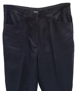 Ishyu Straight Pants Black