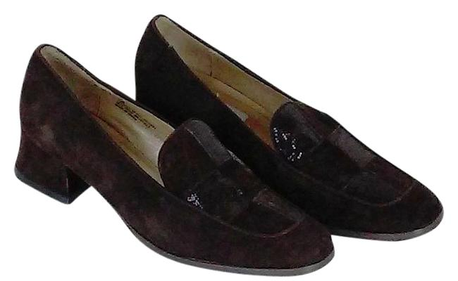 Item - Chocolate Brown Genuine Suede Loafers Flats Size US 7 Regular (M, B)