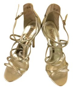 Badgley Mischka Wedding Dancing Holiday Silver Formal