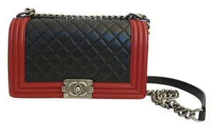 Chanel Boy Reverso Cross Body Bag