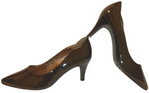 Hush Puppies New Patent Leather Black Pumps