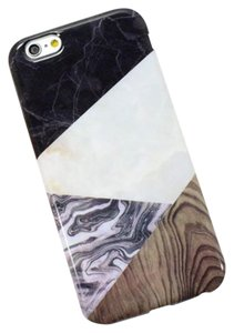 Other White Marble Wood Iphone 6/6s Case
