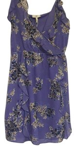 Joie short dress Periwinkle print on Tradesy