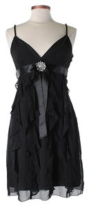 BCBGMAXAZRIA Silk Embellished Dress