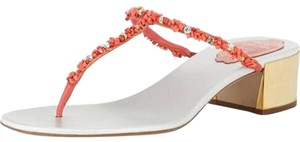 Rene Caovilla White, red Sandals