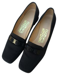 Salvatore Ferragamo Low Heels black Pumps