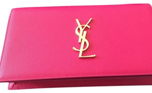 Saint Laurent Bubblegum Clutch