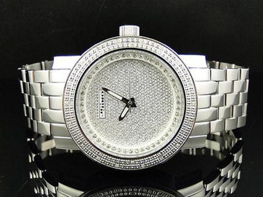Other Mens Jojinojoe Rodeo Aqua Master Metal Band 25 Diamond Watch Mj-1175