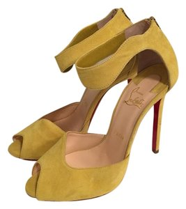 Christian Louboutin Summer Sandal Canary Yellow Sandals