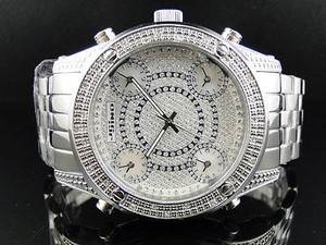 Other Mens 51 Mm Jojinojoe Rodeo Aqua Master Zone Metal Band Diamond Watch Mj-1178