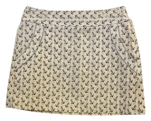 J.Crew J. Crew Mini Skirt Anchor print