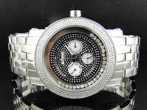 Other Mens Mm Jojinojoe Rodeo Aqua Master Chrono Metal Band Diamond Watch Mj-1180