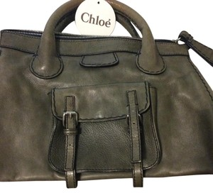 Chloé Satchel in Olive Green