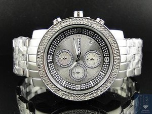 Other Mens Mm Jojinojoe Rodeo Aqua Master Chrono Metal Band Diamond Watch Mj-1055