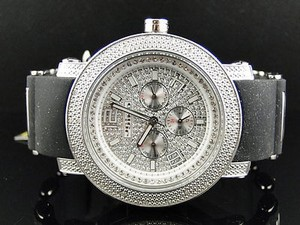 Other Mens Mm Jojinojoe Rodeo Aqua Master Chrono Metal Band Diamond Watch Mj-1186