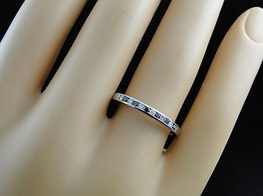 Jewelry Unlimited 10k,Ladies,White,Gold,White,Black,Diamond,Wedding,Fashion,Band,Ring,2.5,Mm