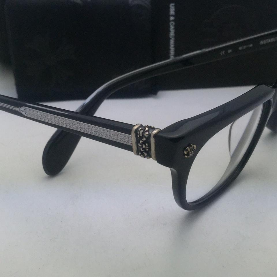 Chrome Hearts New Eyeglasses Instabutt Bk 50-21 149 Black Frame ...