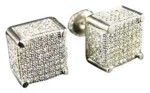 Other Ice,Cube,Block,Mensladies,Diamond,Stud,Earrings,1.4,Ct