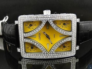 Other Ice Tek Ct Quintempo Ii Jacob Benny Joe Rodeo Diamond Watch -