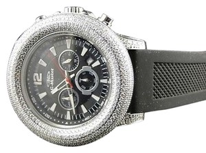 Other Mens 52mm Bezel G-masterjoe Rodeo White Simulated Diamond Watch 15 Ct