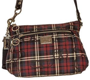 Coach Cotton Cross Body Bag