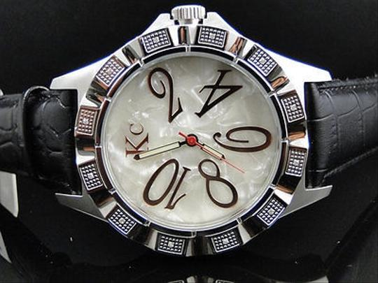 Techno Com by KC Techno Com Kc Jojo Jojino Joe Rodeo Mother Of Pearl Diamond Watch Mm 0.20 Ct