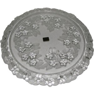 Mikasa Crystal Carmen Walther Glass Crystal Cake Plate In Box