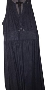 Calvin Klein short dress Blue Denim on Tradesy