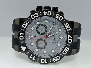Other Mens Aqua Master Jojo Jojino Joe Rodeo Diamond Watch Mm W338-117-5