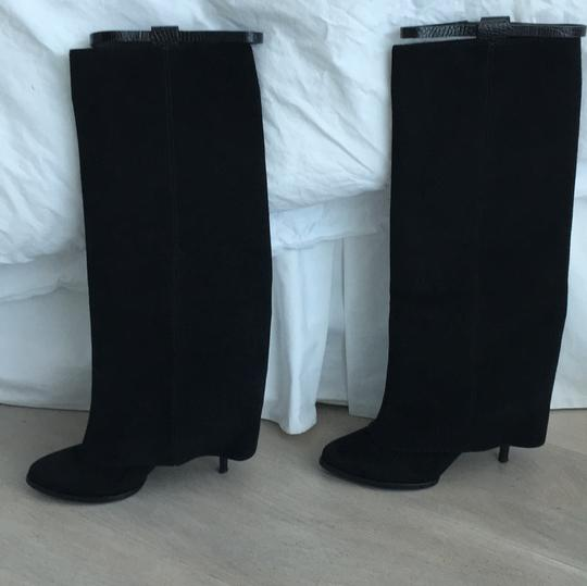 Givenchy Black suade Boots
