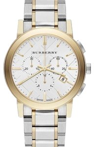 Burberry The City Collection Two-tone Stainless Steel Chronograph Watch